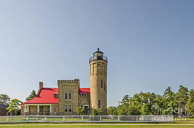 Photograph - Old Mackinac Point Lighthouse by Sue Smith