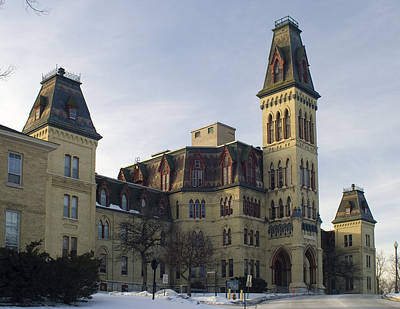 Photograph - Old Main At Woods Wisconsin by Peter Skiba