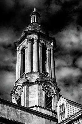 Photograph - Old Main Black And White by Dawn Gari