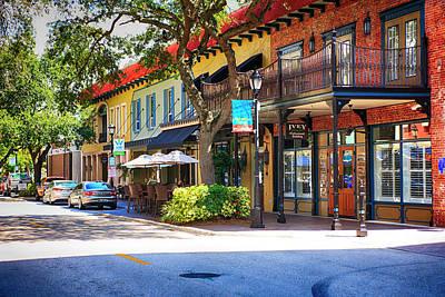Photograph - Old Main Street Bradenton Fl by Chris Smith