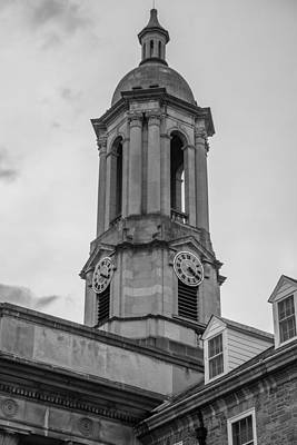 Penn State University Photograph - Old Main Tower Penn State by John McGraw
