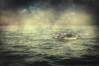 Photograph - Old Man And The Sea by Taylan Apukovska