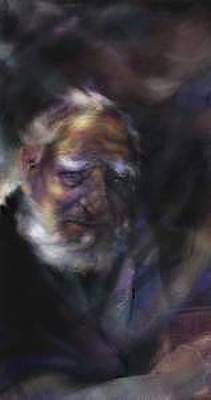 Hemmingway Painting - Old Man by Craig Sanes