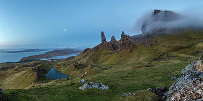 Grass Rocks Photograph - Old Man Of Storr by Davorin Mance