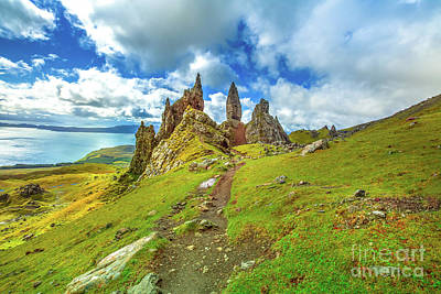 Photograph - Old Man Of Storr by Benny Marty