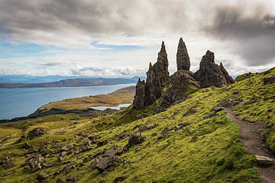 Photograph - Old Man Of Storr by Gary Eason