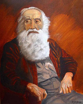 Painting - Old Man Of The Sea by Richard Le Page