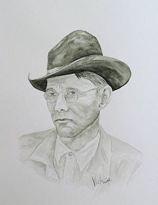Old Man Art Print by Torrie Smiley
