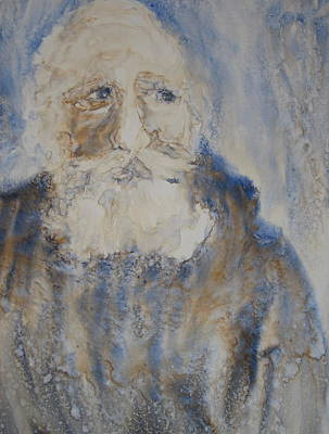 Wall Art - Painting - Old Man Winter by Debra LePage