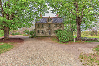 Photograph - Old Manse Concord, Massachusetts by Brian MacLean