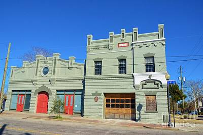 Photograph - Old Market And Fire House by Bob Sample