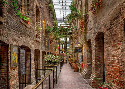 Photograph - Old Market Passageway by Susan Rissi Tregoning