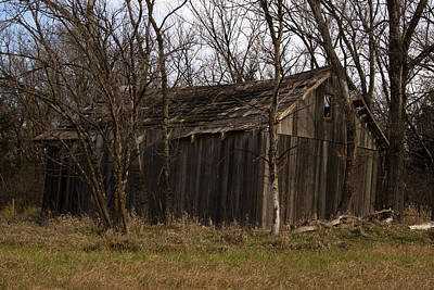 Maydale Photograph - Old Maydale Barn by Mark A Brown