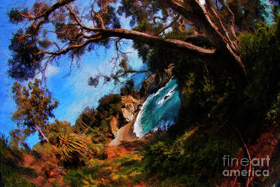 Photograph - Old Mcway Falls Tree by Blake Richards