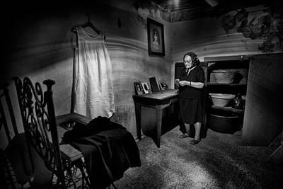 Dresses Photograph - Old Memories... by Antonio Grambone
