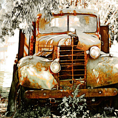 Old Memories Never Die Art Print by Holly Kempe