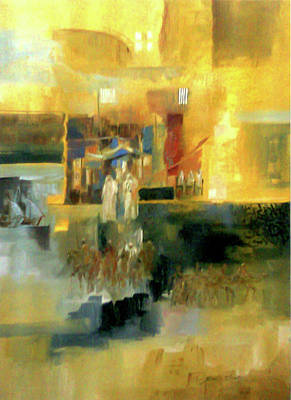 Painting - Old Memory by Jaffo Jaffer