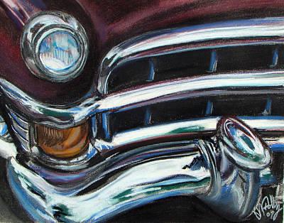 Pastel - Old Merc by Michael Foltz