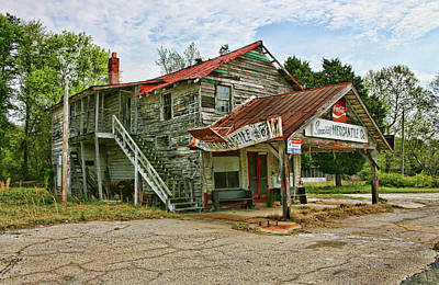 Photograph - Old Merchantile 2 by Cathy Harper