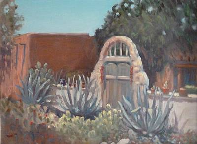 Painting - Old Mesilla Gate by Bonita Waitl