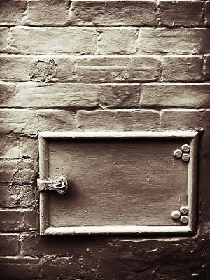 Old Latch Photograph - Old Metal Latch by Tom Gowanlock