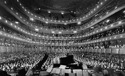 Musicians Photo Rights Managed Images - Old Metropolitan Opera House Concert - NYC 1937 Royalty-Free Image by War Is Hell Store