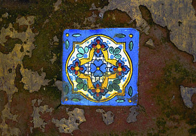Just Desserts - Old Mexican Tile by Craig David Morrison
