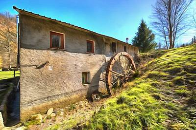 Photograph - Old Mill - Antico Mulino by Enrico Pelos