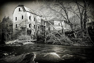 Photograph - Old Mill Cedar Hill Mo 7r2_dsc5862_20180412 by Greg Kluempers