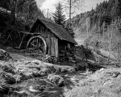 Photograph - Old Mill by Daniel Hagerman