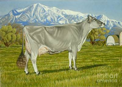 Brown Swiss Painting - Old Mill E Snickerdoodle by Gary Sauder