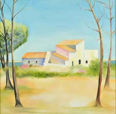 Old Mill In The Algarve Original by Jenny anne Morrison