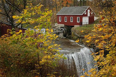 Photograph - Old Mill by J R Baldini