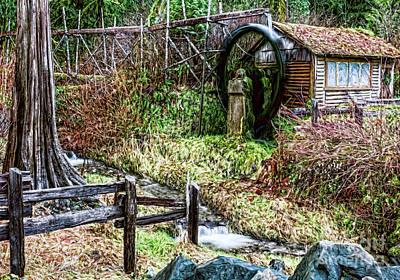 Photograph - Old Mill by Jean OKeeffe Macro Abundance Art