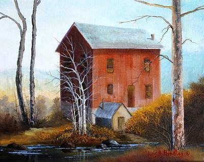 Painting - Old Mill by Judy Bradley