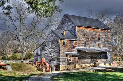 Old Mills Photograph - Old Mill Nelson County Virginia by Todd Hostetter