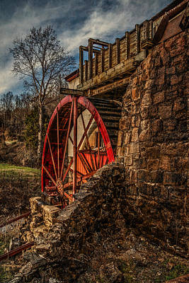 Old Mill Of Guilford II Art Print by Pam DeCamp