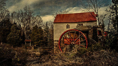 Old Mill Of Guilford Art Print by Pam DeCamp