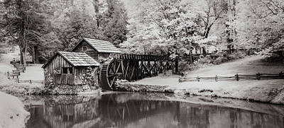 Photograph - Old Mill On The Mountain by James Woody