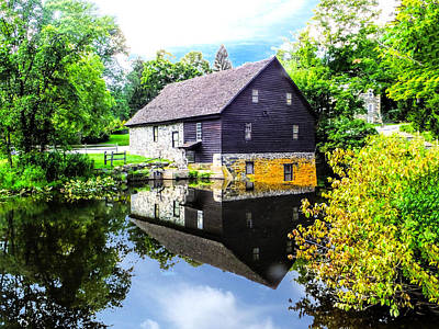 Photograph - Old Mill Sciota Pa by Terry Shoemaker