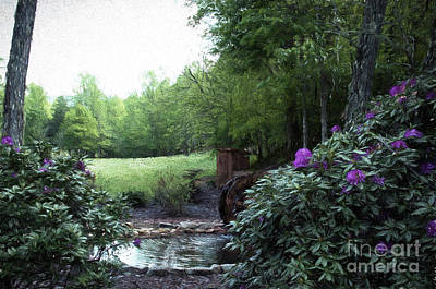Photograph - Old Mill Serenity by Luther Fine Art