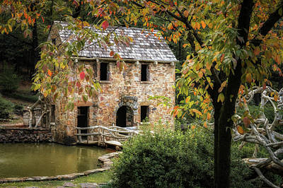 Photograph - Old Mill Through The Trees by James Barber