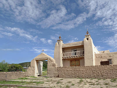 Old Mission, Las Trampas, New Mexico Art Print