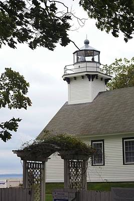 Photograph - Old Mission Lighthouse by Ellen Barron O'Reilly