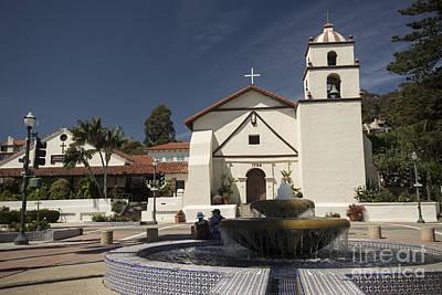 Ventura California Photograph - Old Mission San Buenaventura by David Bearden