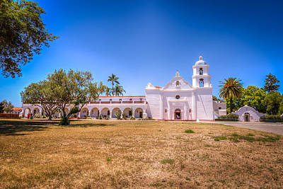 San Luis Rey Photograph - Old Mission San Luis Rey by Spencer McDonald