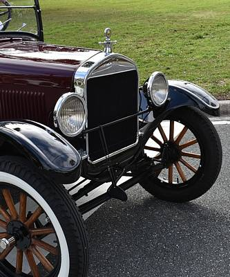 Photograph - Old Model Ford by rd Erickson