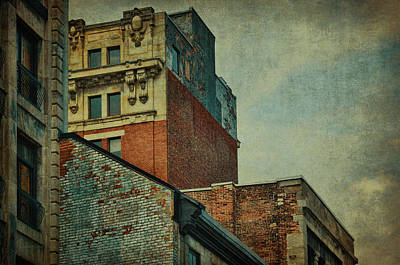 Photograph - Old Montreal - Architectural Details by Maria Angelica Maira