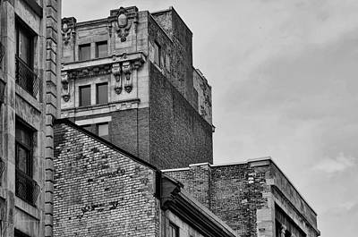 Photograph - Old Montreal Buildings  by Maria Angelica Maira