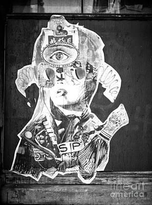 Photograph - Old Montreal Graffiti by John Rizzuto